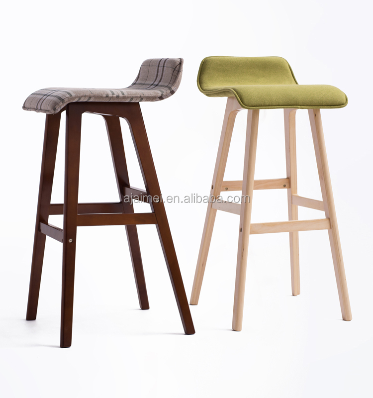 Nordic Wooden Bar Stool Am 077 For Bar Table Buy Wooden Bar Stool Nordic Furniture Cheap Bar