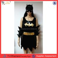 yiwu market cosplay bat man costume custom made superhero costumes PGMO-0016