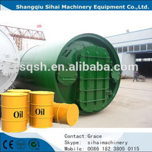 Large Capacity Negative pressure/ Vacuum Directly heating Continuous operation Distillation Plant