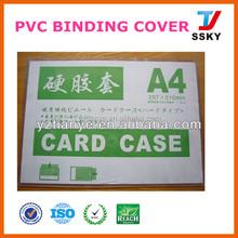 Titular do cartão de id PVC titular do cartão de PVC rígido