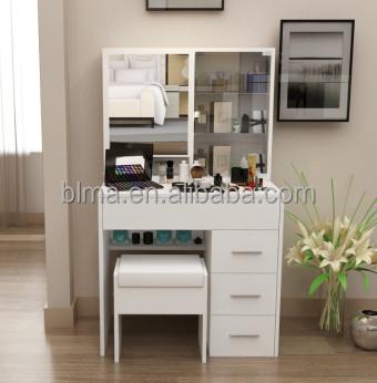 Simple moderno tocador de madera dise os para dormitorio muebles del panel vestidores - Tocador moderno dormitorio ...