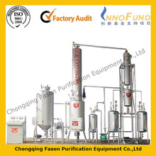 Exclusive technology Low Temperature Distillation Energy saving waste oil purifying machine
