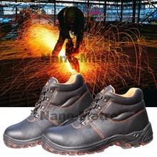 NMSAFETY El más barato calzado de seguridad para hombres con puntera de acero