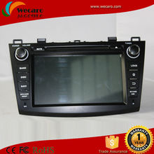 Wecaro Android Double Din Car Dvd Player For Mazda 3 With 3G Wifi Navigation,ipod,stereo,radio,usb,BT