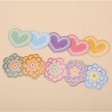 Tarjeta de papel para beber pajas decorativos