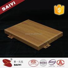 Decorative Building Material Marble Aluminum Veneer / Plate / Panel
