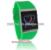 RK1064-New Arrival Double Heart LED Watches , Watch Manufacturer&Exporter&Supplier