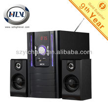 """Unique Design 2.1CH Wireless Home Cinema with Wireless Remote Control with 5.25"""" Subwoofer and USB SD/MMC FM Functions"""