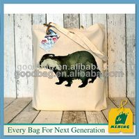 promotional cotton tote shopping bag, MJ-C0130-Y, China Manufacturer