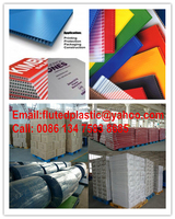 PP corrugated plastic sheet rolls for floor surface cable steel marble protection