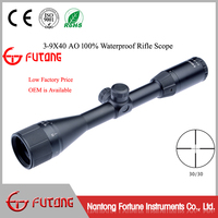 Riflescopes 3-9x40 AO Hunting Riflescope Adjustable Objective 100% Waterproof Rifle Scope