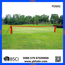2015 new arrival height adjustable badminton volleyball tennis net with stand FD692