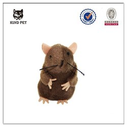 2015 best selling pet toy funny fur mouse cat toy