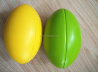 good quality bulk custom pu foam rugby stress balls price