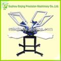 Máquina de impresión de 4 colores pantalla t-shirt