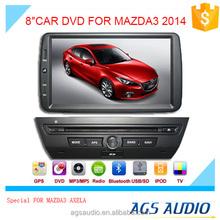 wholesale alibaba 8'' inch car audio for MAZDA3 AXELA with multifunction