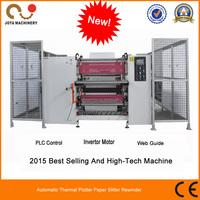 China Manufacture ATM Paper Roll Slitting Machine JT-SLT-900C