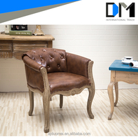 Alibaba furniture living room furniture high back chair modern style leather sofa