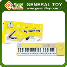 Toys Plastic Musical Instruments Cartoon Electronic Organ With Music