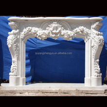 2015 marble fireplace