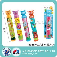 Lovely animals promotional outdoor toy kaleidoscope for kids