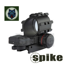 FT-12T Multi-Reticle Sight(Multi-Rail) Rifle Scope Red / Green Illuminated Red Dot For rifle, pistol & hunting