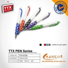 Regalo promocional plástico promoción pluma, tipo pluma plástica