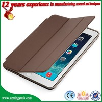 Fashion leather tablet cover case , tablet cover for ipad MINI leather case