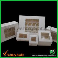 Bakery cupcake boxes cheap wholesale China
