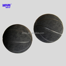 Black Microfiber ball Size 5 Microfiber Basketball For Child