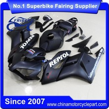 FFKHD019 Fairings For Motorcycle For CBR1000RR 2004 2005 Matt Black White Sticker