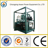 Easy to use vacuum transformer oil dehydration