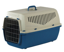 Pet Carrier Medium Plastic Hard-Sided Travel Crate