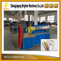 New Design Brighter High Output Single Color Drink Straw Making Machine Line PP PE Used Drink Straw Making Machine