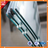 Building material Curve Tempered Glass with ISO and CCC certification