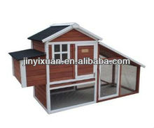 Updated Farm House Poultry Hutch / Rabbit Hutch with new design