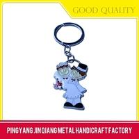 Art use good quality cheap custom keychains no minimum