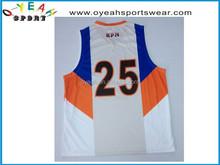 customized basketball wear sublimation basketball wear