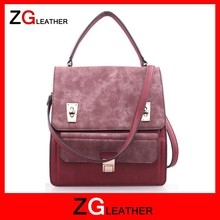 top layer trendy women bags hot sale trendy designer handbag Red trendy hand bag