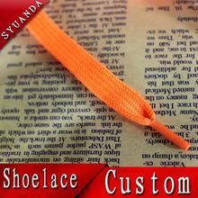gradient color satin shoelaces silicone shoelaces sport shoe lace