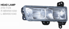 HEAD LAMP 216-1124,TAIL LAMP 216-1927,FOG LAMP 216-2001,CORNER LAMP 216-1523-YA 216-1539 FOR MAZDA T3000,T3500,T400 89-97 SERIES