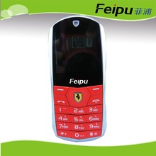 feipu low price car-style bluetooth QQ china dual sim cards mobile phone