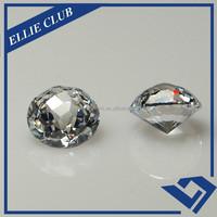 stock sale round 4mm cz gem stone/ white cubic zirconia