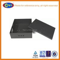 Black powder metal box / injection processing/ CNC Punching Machine