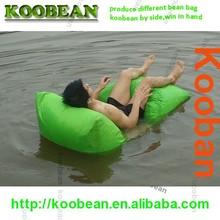 swimming pool summer use bean bag float, floating pool beanbag chair,bed