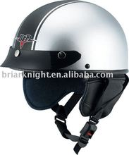 dot racing half face helmet