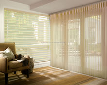 White Coating Combi Paper Fabric Roller Blinds