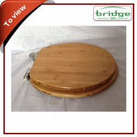 Bamboo Toilet Seat Cover Set Wooden Toilet Seat Cover