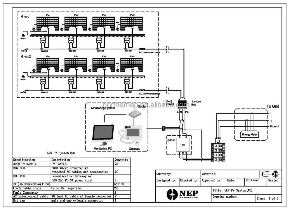 photovoltaic wiring diagram with Home Solar Pv Microinverter Similar Enphase 1892839249 on Rainbow Se Series Vacuum Switch Wiring Schematic in addition Proyecto De Electronica Cargador Solar Para IPOD moreover Different solar setups as well Interruptor De Transferencia Del Generador moreover Solar Pv Wiring Diagram Uk.