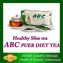 ABC organic diet tea 100% natural herbal product,easy slim tea without any side effect